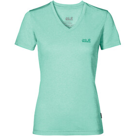 Jack Wolfskin Crosstrail - T-shirt manches courtes Femme - turquoise